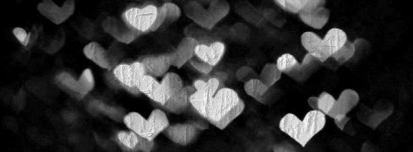 lovely glittering heart Facebook Cover - timelinecoverbanner.com