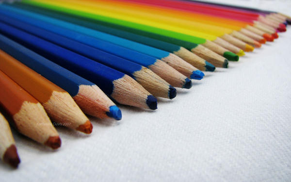 Pencil Wallpaper by KatherineDavis