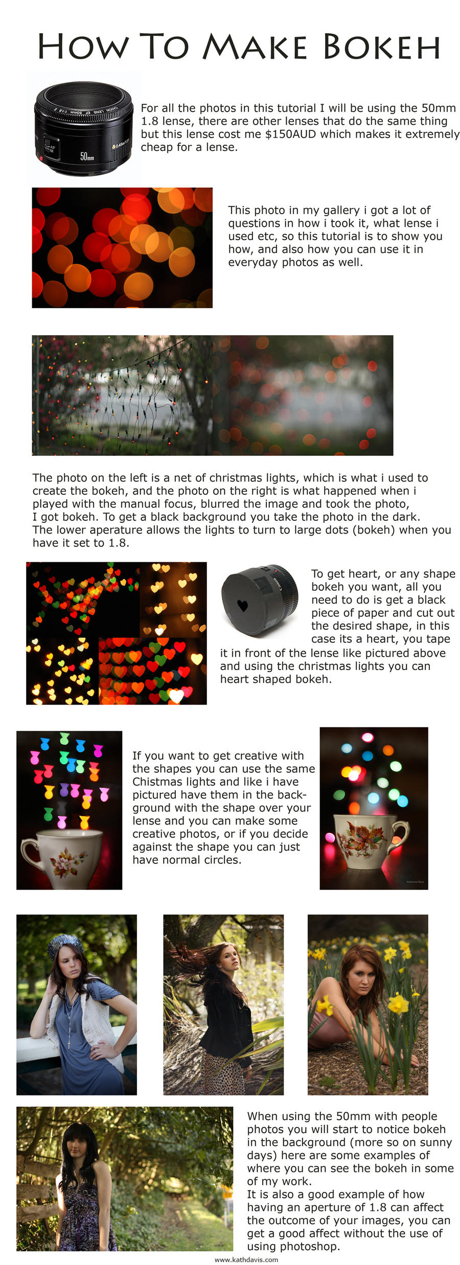 How to make bokeh by KatherineDavis