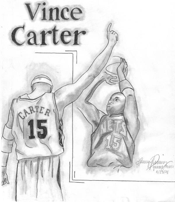 Vince Carter by gerd324 on DeviantArtDrawings Of Vince Carter