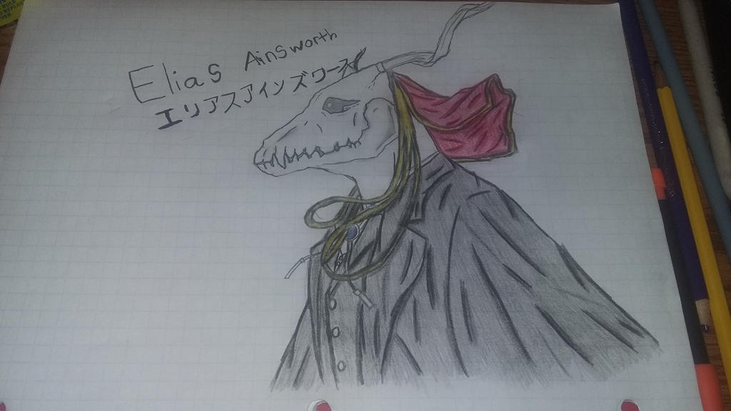 Anyone remember this fine fellow? (Elias ainsworth by thescoutisout