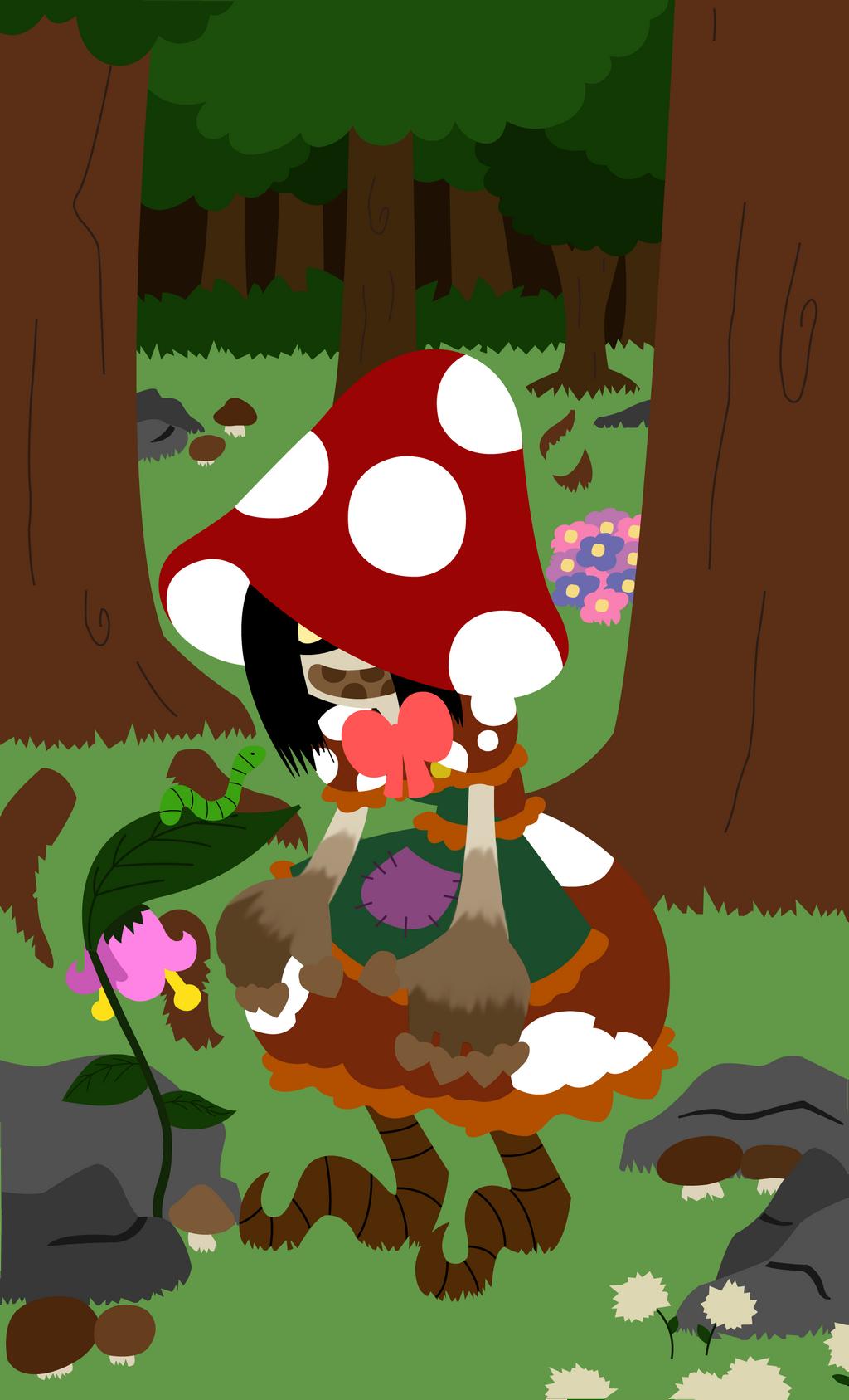 Woodland Mushroom - Digital by TheOutsanityShoppe