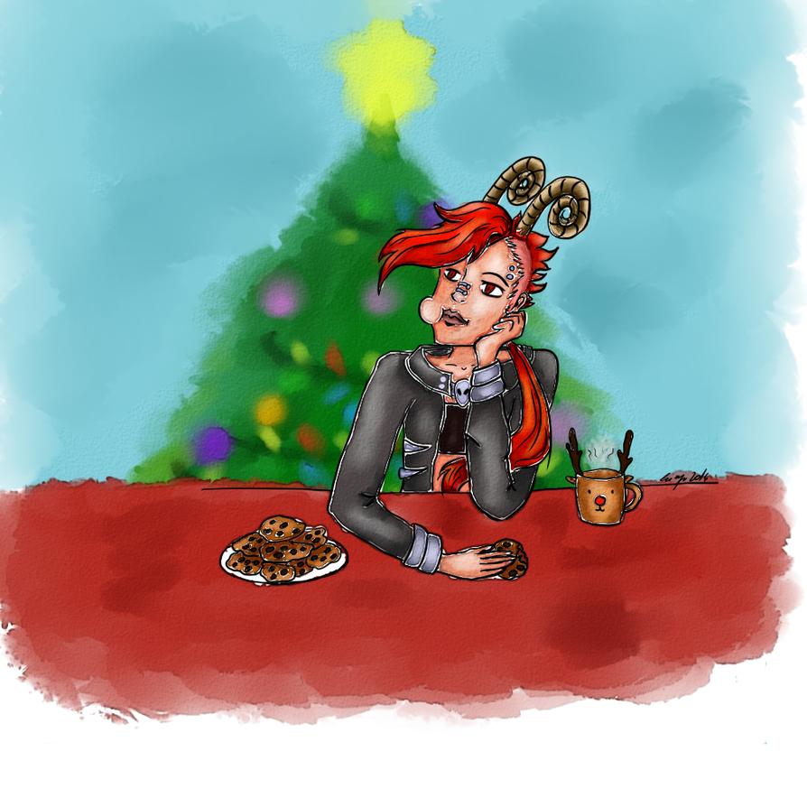 Waiting for Santa - Secret Santa by kity29