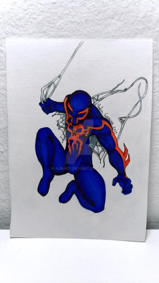9 - Spider-Man 2099 (Miguel O'Hara) by RJRArt