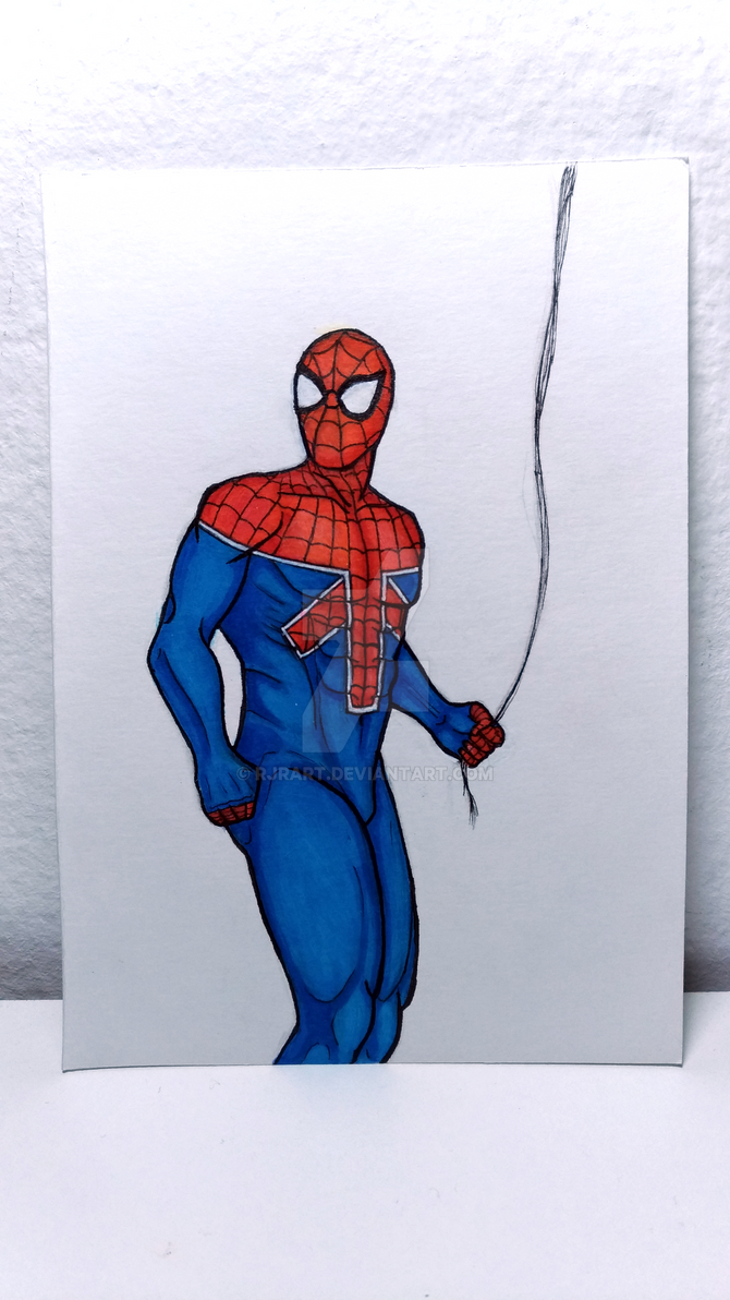 11 - Spider-UK (William Braddock) by RJRArt