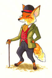 Foxworthington the 13th by witching-hour