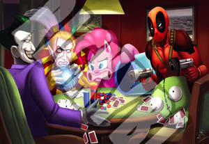 Shady Poker Game Commission
