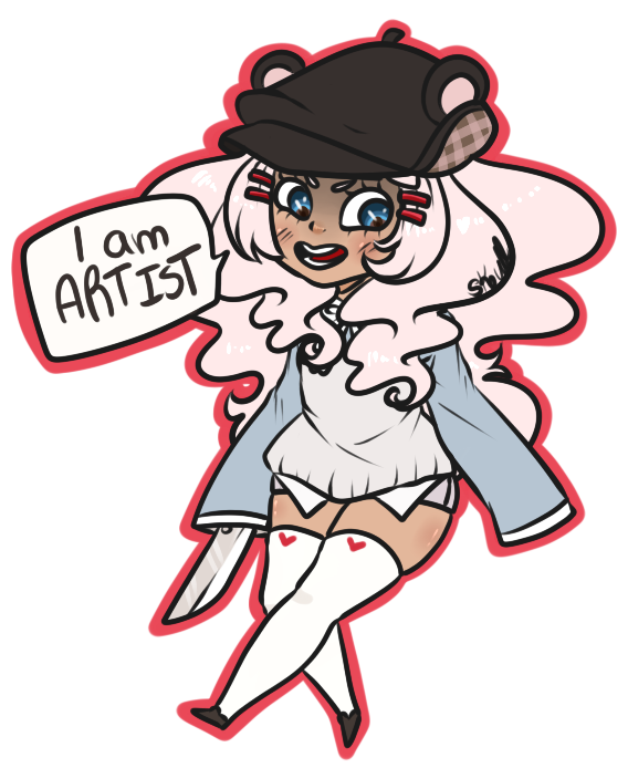 GaiaOnline - Another self avatar doodle 2