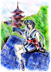 Misao and her home at kyoto (UPDATED)