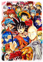 The Jump Stars Heroes 2 by Penzoom