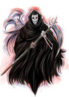 DEATH The Grim Reaper by Penzoom