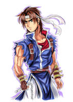 (Rondo of Blood) Richter Belmont by Penzoom