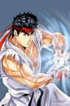 Hadouken Ryu ! by Penzoom