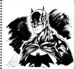 Batman ink work.