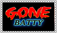 Gone Batty stamp (gift) by DangerHillTerror