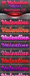 10 Valentine Styles by AnilCorn