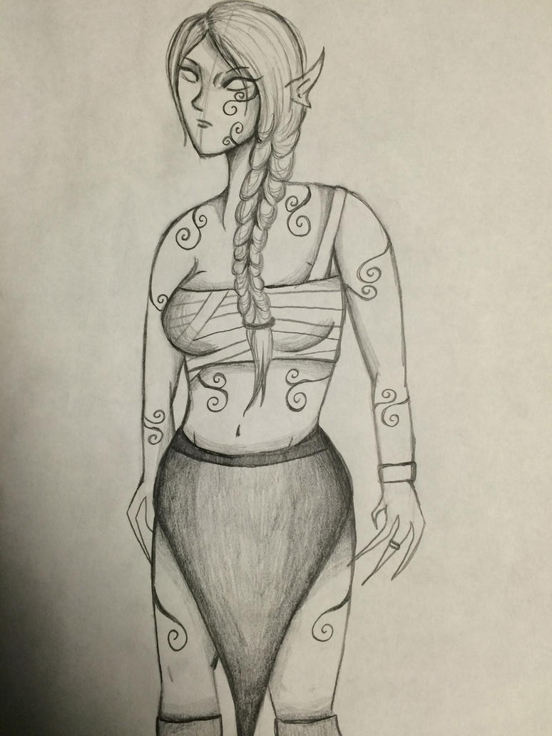 Percepone Sketch by GrimKreaper