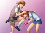 Misaka's knee by chocojerk