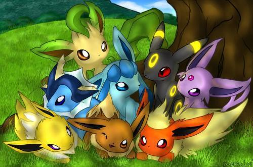 pokemon  Evee by MLGF