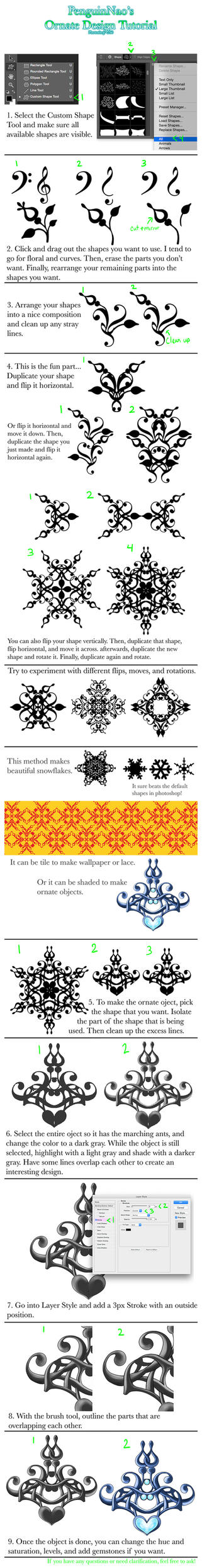 Ornate Design Tutorial by Savinee