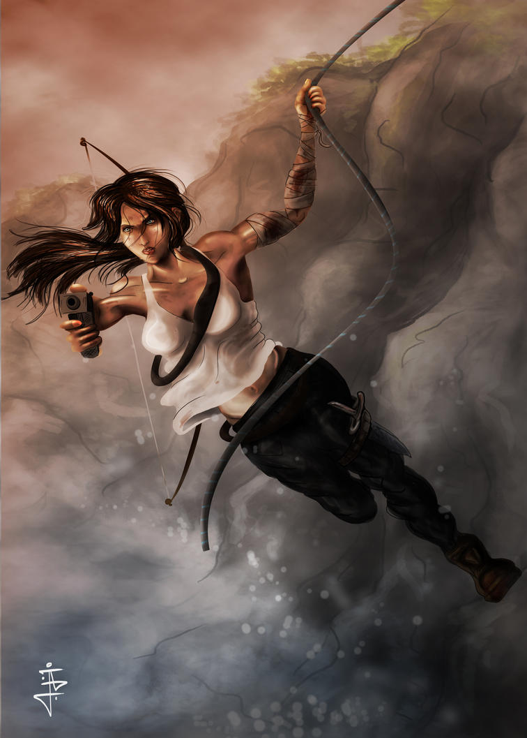 Tomb Raider reborn contest by JohnnyClark