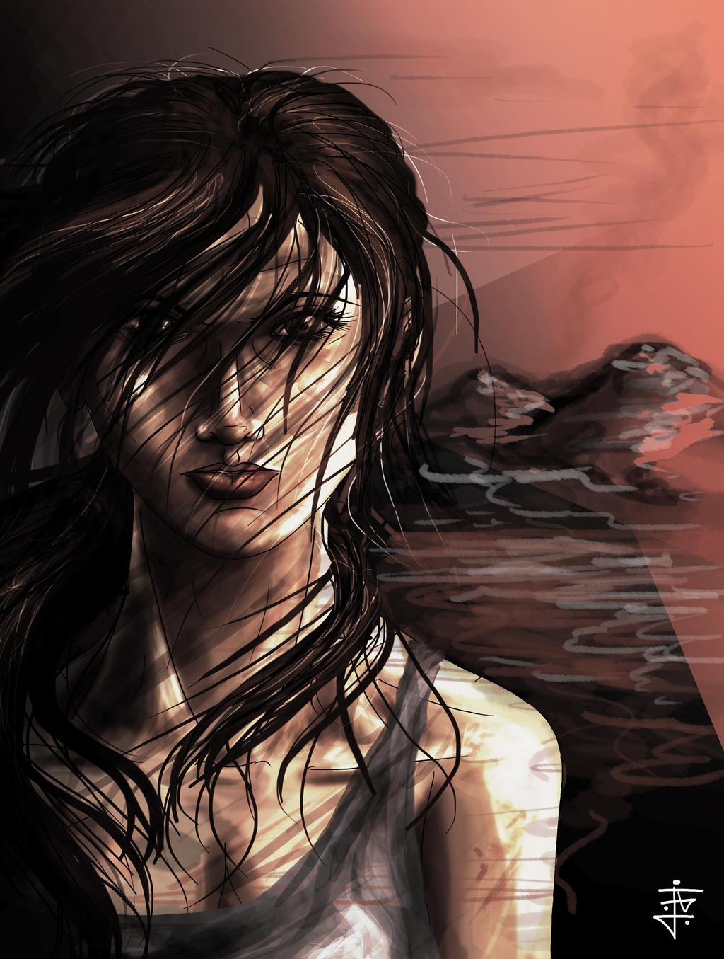 Lara Croft - Tomb Raider Reborn by JohnnyClark