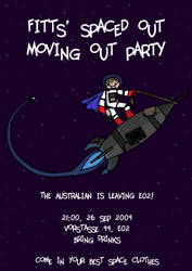 Moving Out Party Poster