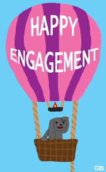 Dwarf Lop in Balloon