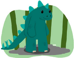 Stu the Stegosaurus