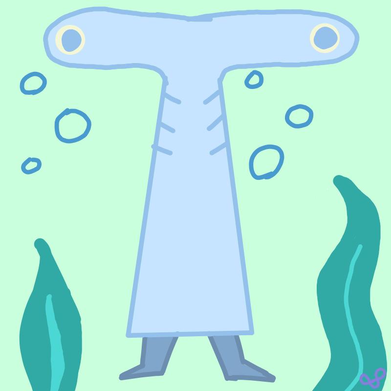 Fishy Man by WakeySnakey