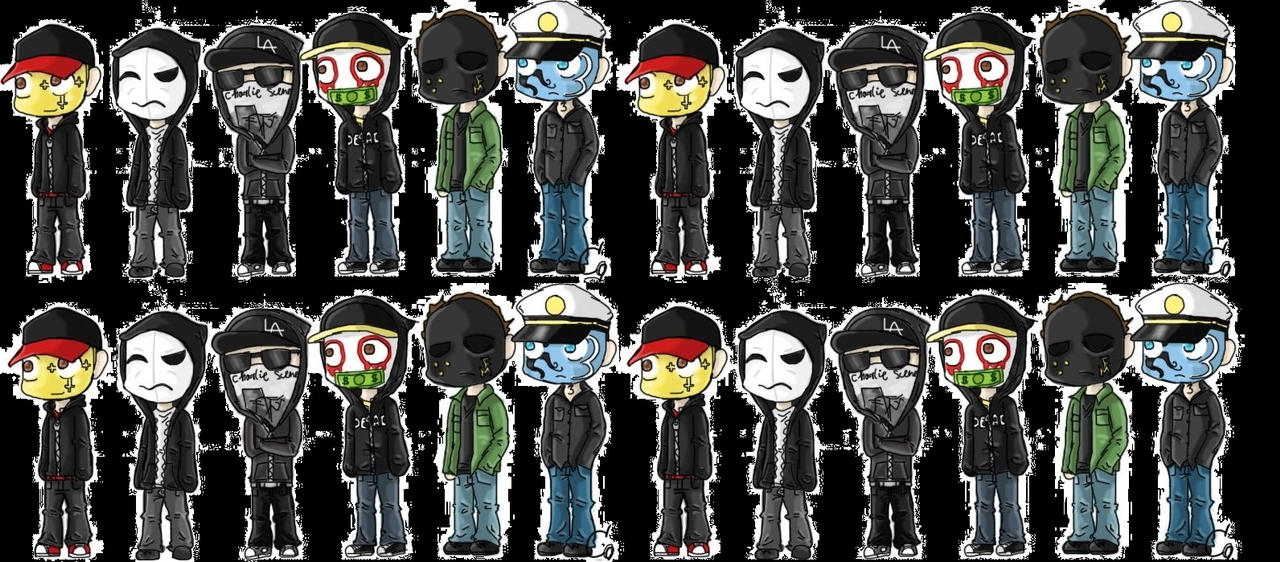 hollywood undead wallpaper