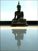 Floating Buddha by bentonico
