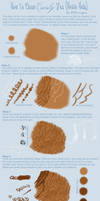 How To Paint Curly Horse Hair
