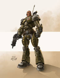 Infantry Soldier by scottbenefiel