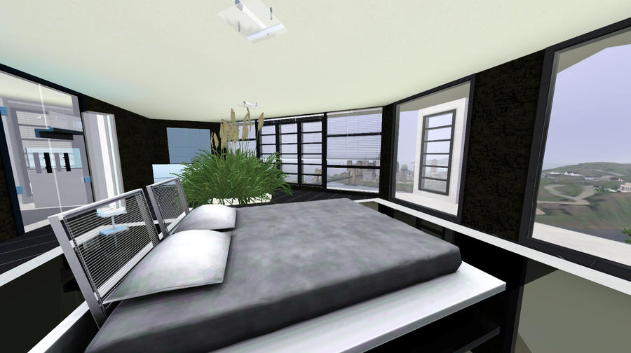 SIMS 3   Modern Mansion Summer Villa By Thor Dg ...