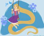 Retro Rapunzel