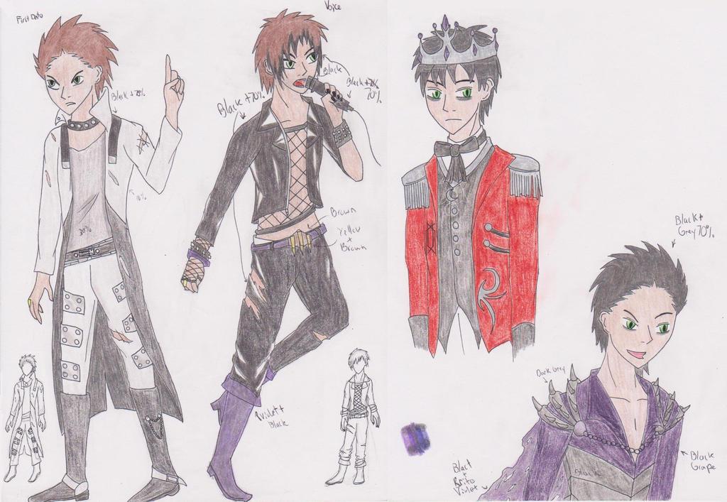 Future Outfits by ShikuroxKanno