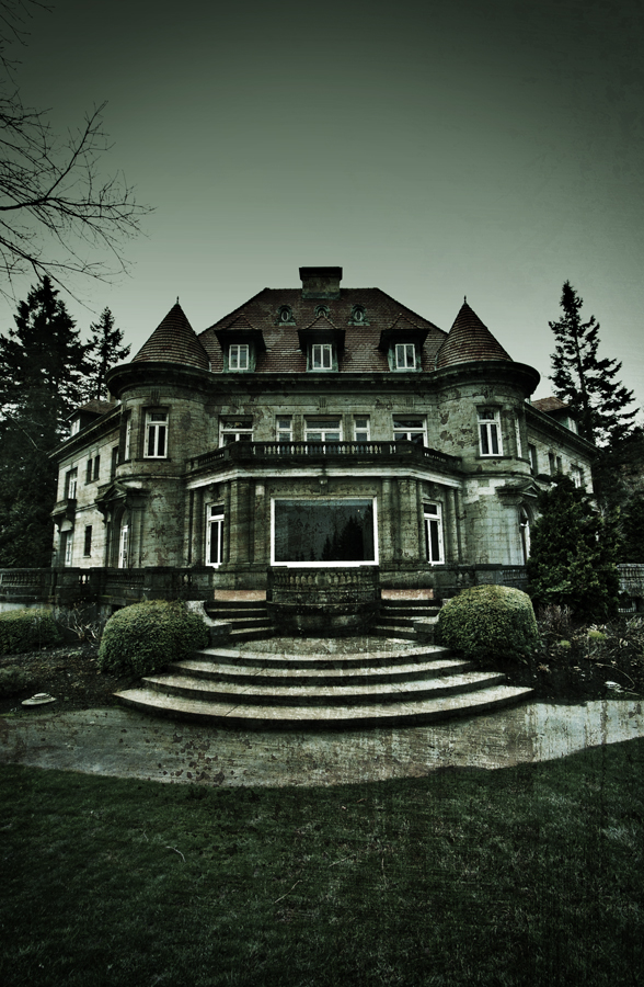 The Pittock Mansion by kylekylecrocadile