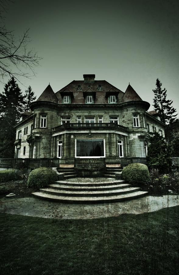The Pittock Mansion by kylekylecrocadile