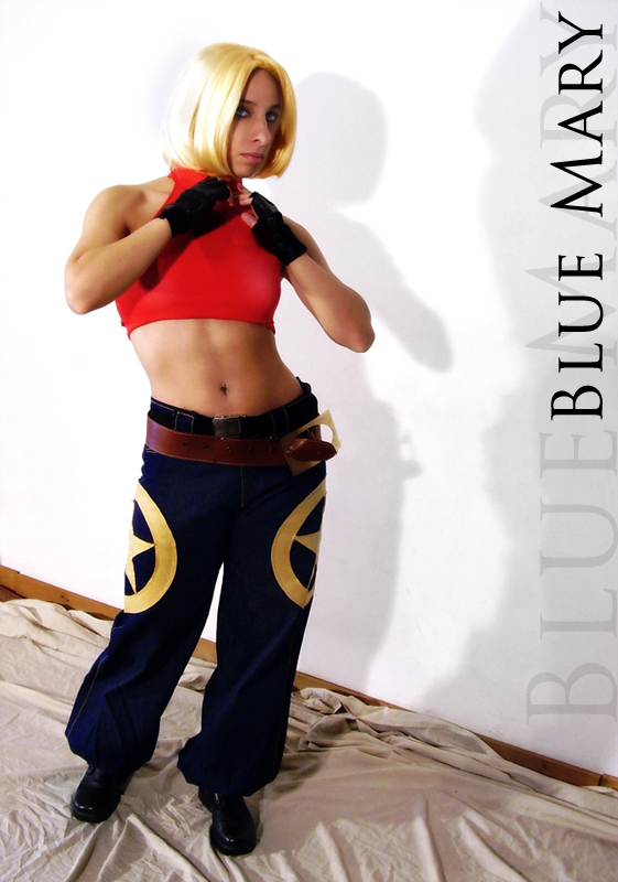 Blue Mary Cosplay