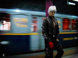 K' Cosplay by Bastetsama-Cosplay
