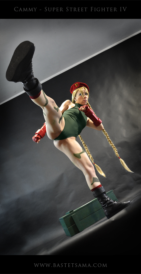 Cammy Cosplay 02 by Bastetsama-Cosplay