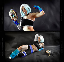 Blue Delilah Cosplay Commission 02 by Bastetsama-Cosplay