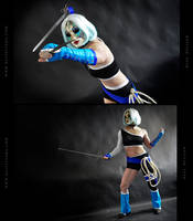Blue Delilah Cosplay Commission 06 by Bastetsama-Cosplay