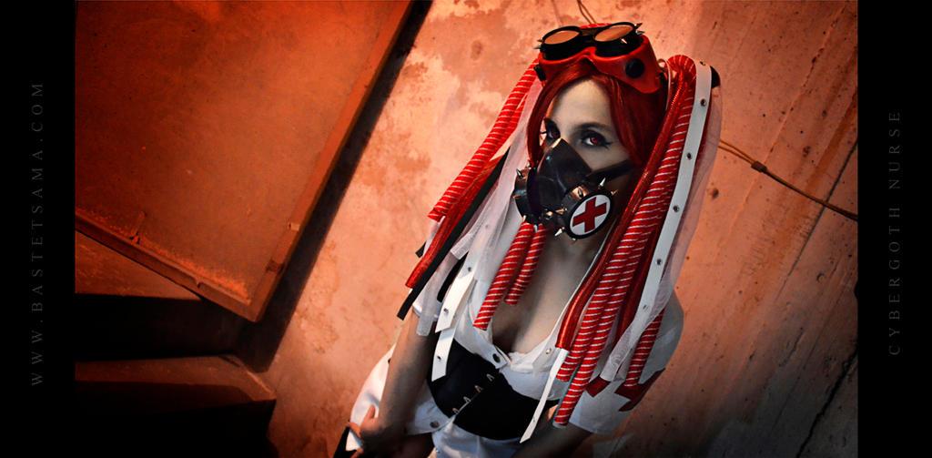 Cybergoth Nurse Costume 08 by Bastetsama-Cosplay