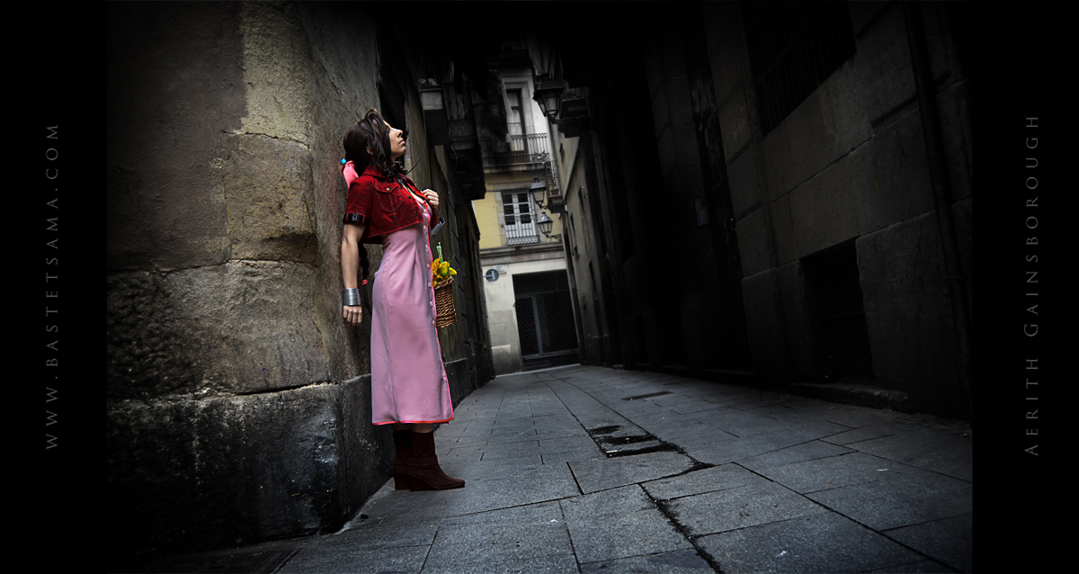 Aerith Cosplay 04 by Bastetsama-Cosplay