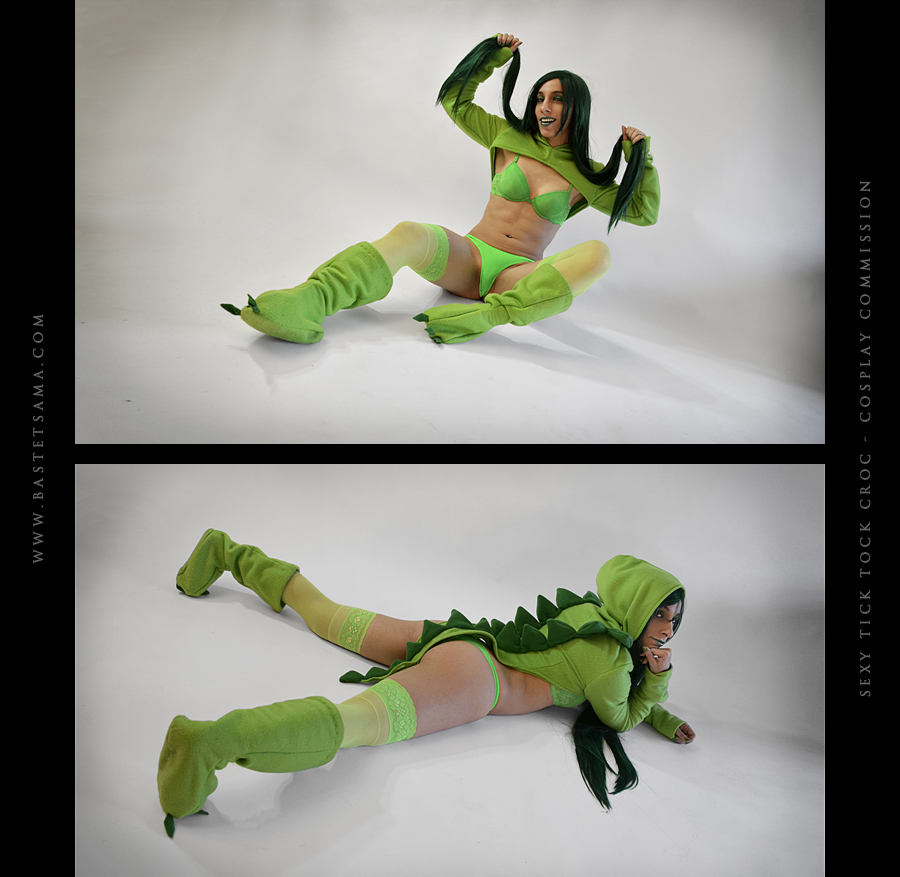 Sexy Tick Tock Croc - Cosplay Commission 05 by Bastetsama-Cosplay
