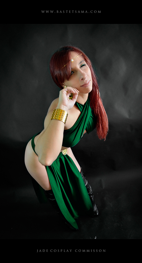 Jade Wizard Cosplay Commission 05 by Bastetsama-Cosplay