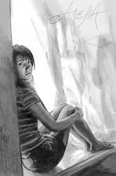 Selfportrait by Maarel
