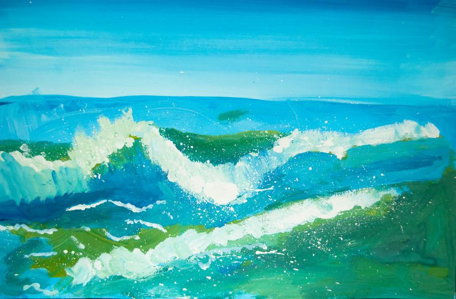 The Sea by Maarel